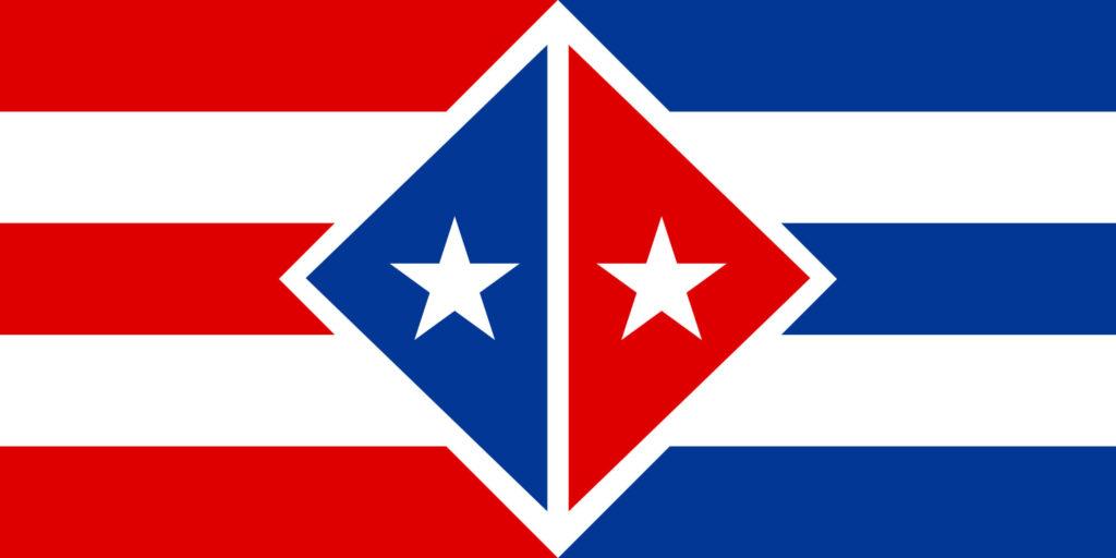 cuban flag vs puerto rican flag