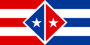 cuban flag vs puerto rican flag