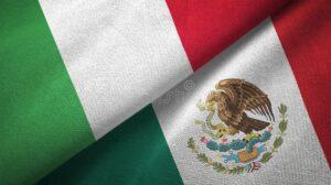 Italian flag vs Mexican flag