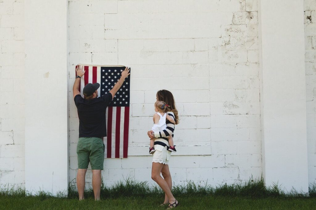 How to Hang a Flag on the Wall